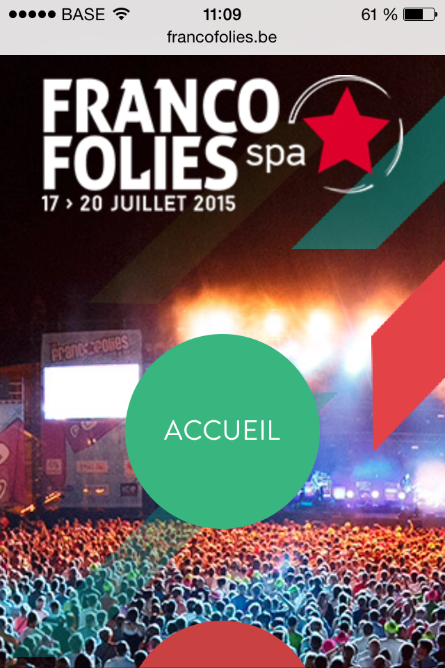 battle2sites   festivals d u0026 39  u00e9t u00e9 francofolies de spa 2015
